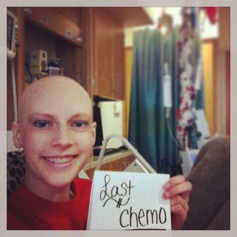 julia rippey last day of chemo